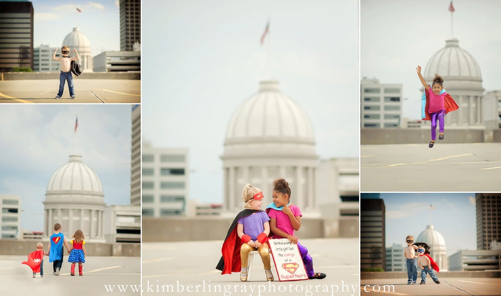 Superhero Kids | Super Friends | Virginia Child Photography