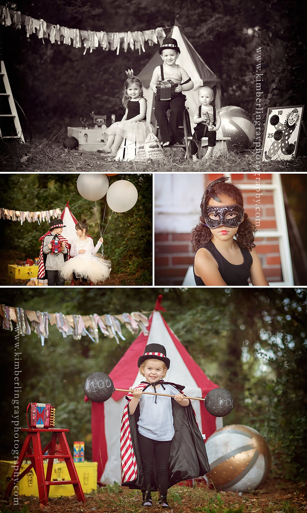 Vintage Circus | Norfolk Children Photography | Creative Minisessions