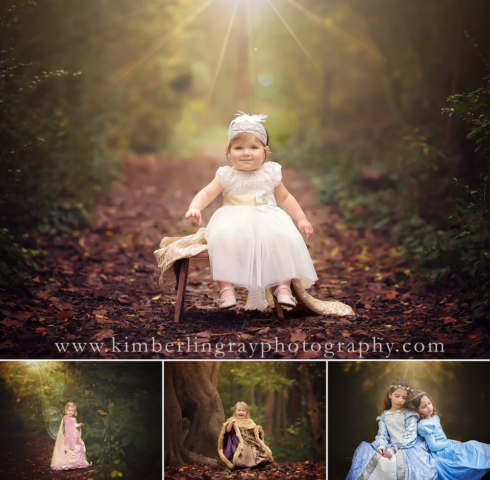Fall Fantasy | Creative Fall Child Portraits