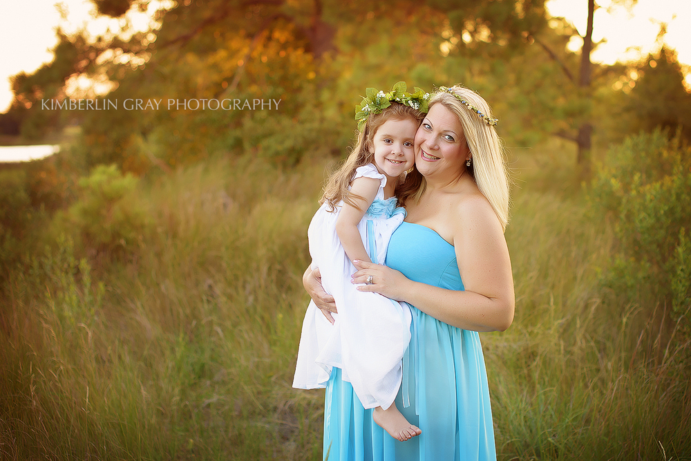 Mother Daughter Maternity Photography Chesapeake Photographer