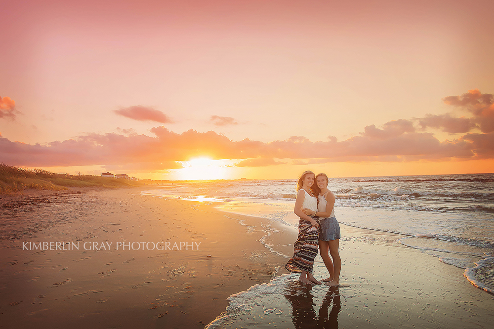 sunset beach photoshoot