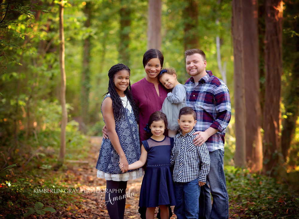 Outdoor Family Photography in Chesapeake Virginia