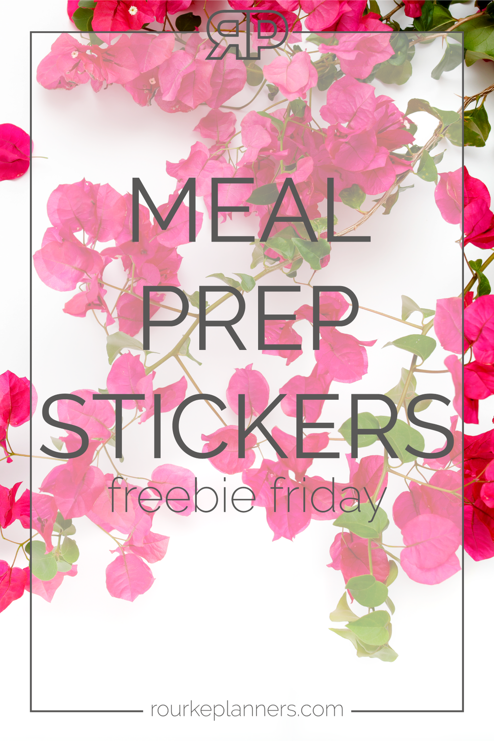 Meal Prep Stickers | Rourke Planners