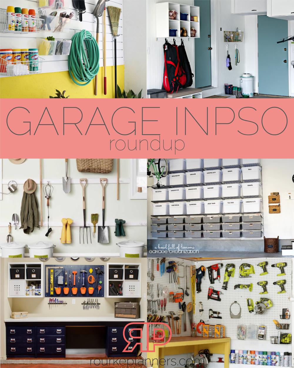 Garage Inspiration Roundup | Rourke Planners