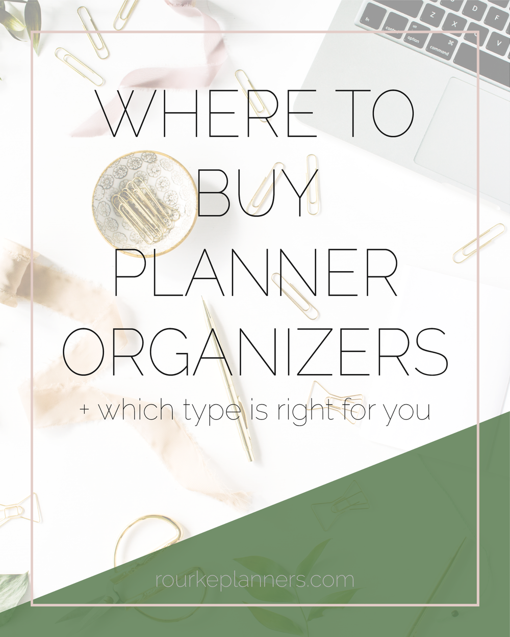 Where to Buy Planner Organizers | Rourke Planners