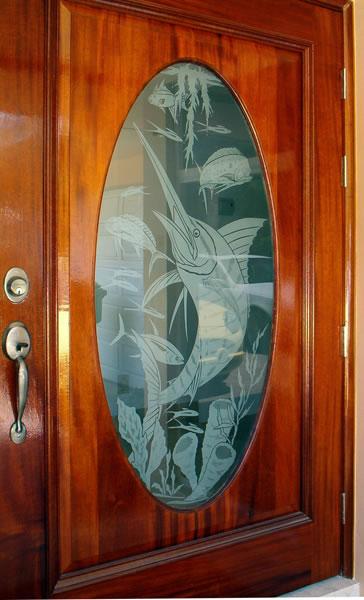 Entry Ways & Unique Glass Art