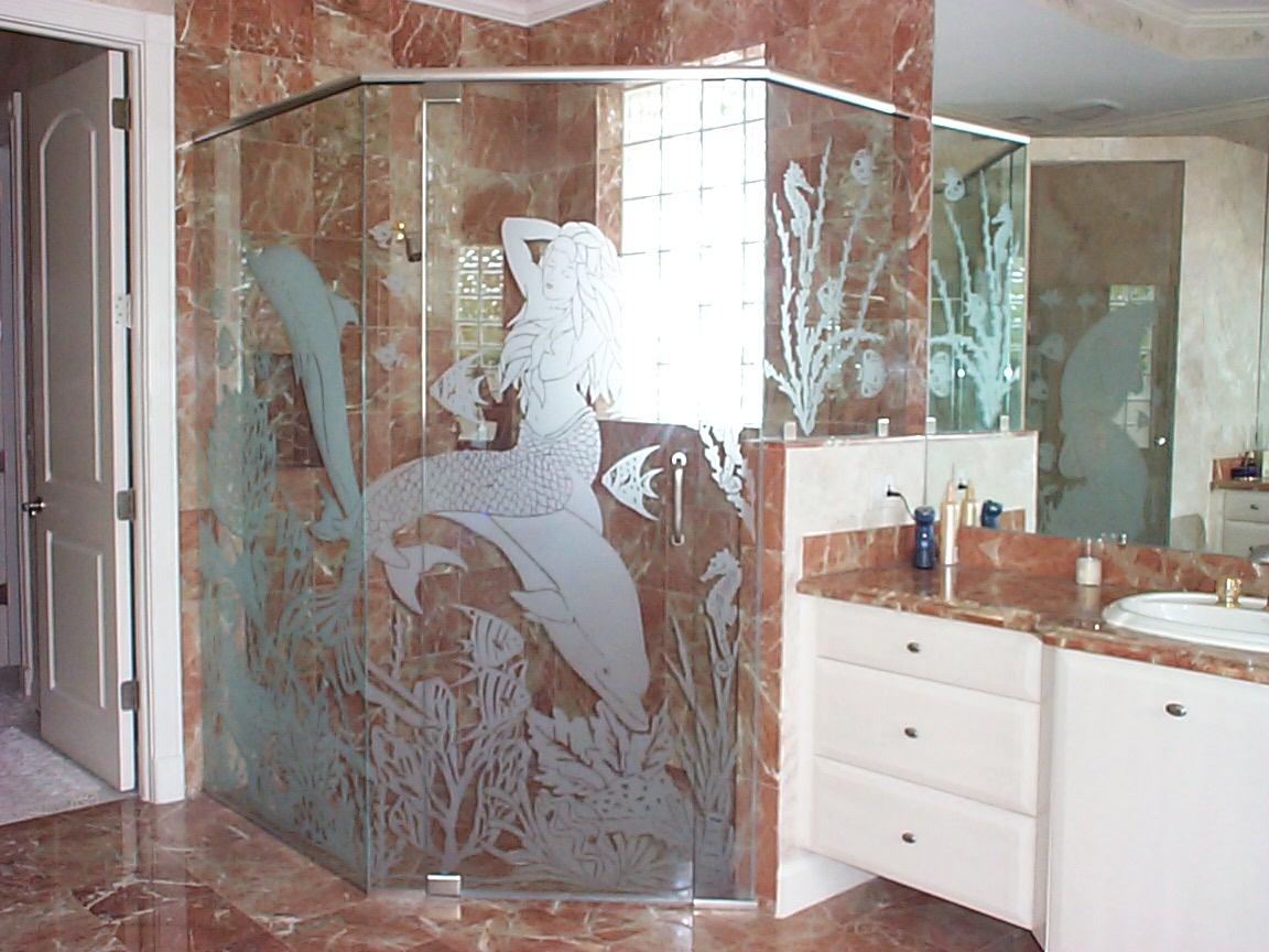 Shower Enclosures — Unique Glass Art
