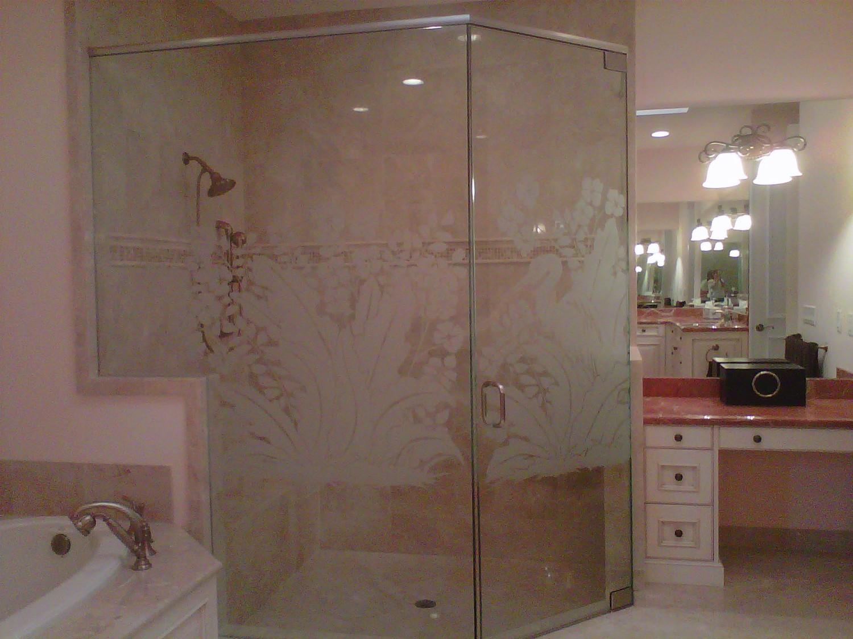 Shower Enclosures Unique Glass Art