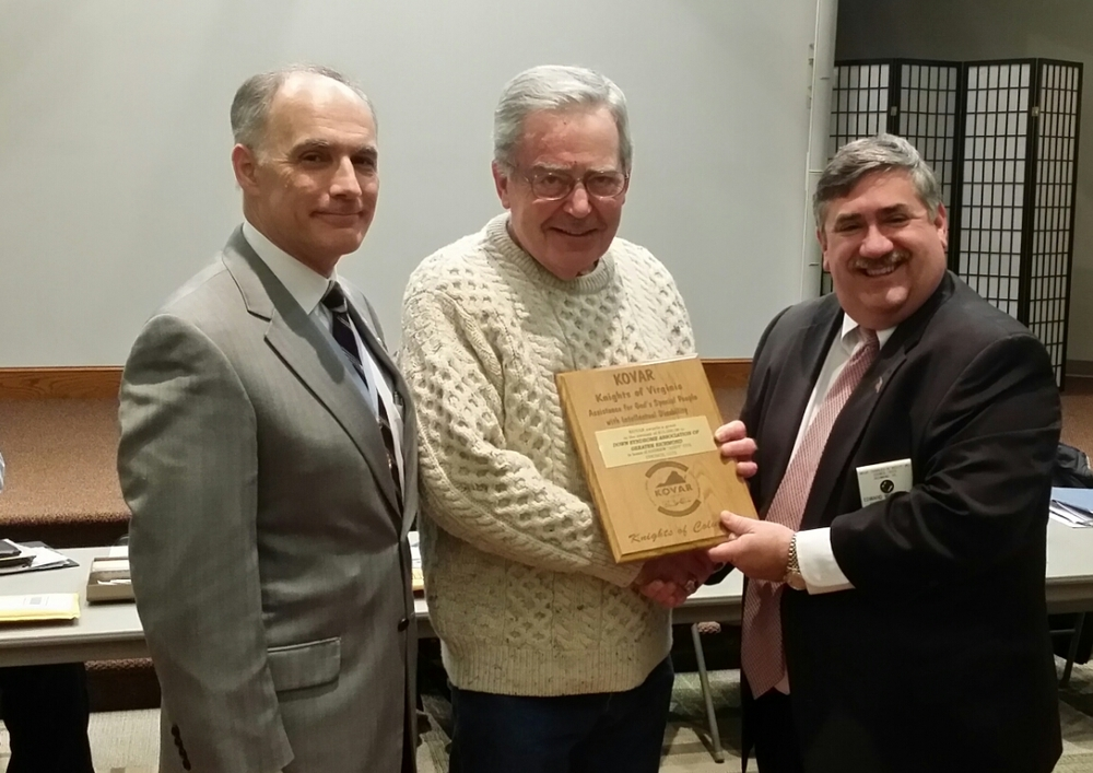 From left to right: State Warden, Ed Polich,   Andy Cox, and Eddie Whitlock, one of the Directors at KOVAR.