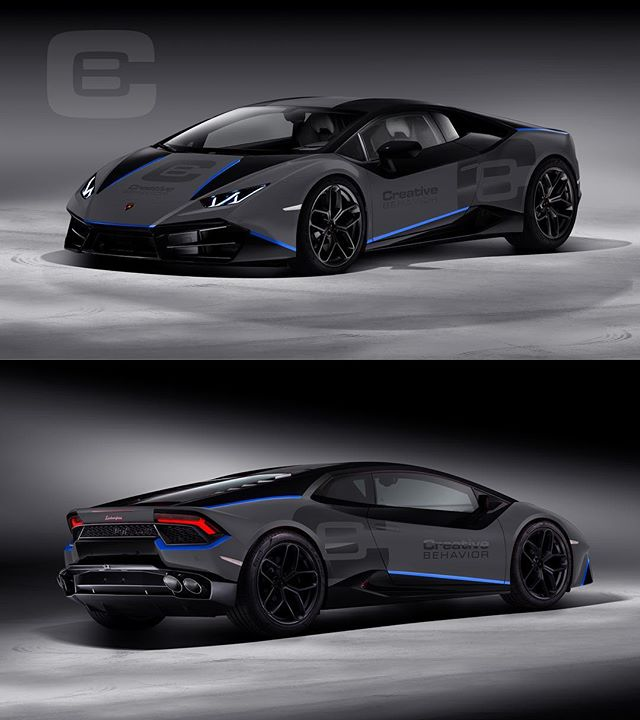 Initial wrap design proposal for a client's LP580 rolling billboard! Also testing accent colors, more to come 🙌 — renderings by @monacoautodesign — #Lamborghini #Huracan #Performante #Aventador #monacoautodesign