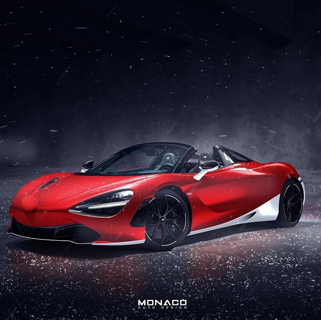 Merry Christmas and Happy Holidays to you all! I hope you enjoy it in good health ⛄️ #Christmas #mclaren #720S #senna #p1
