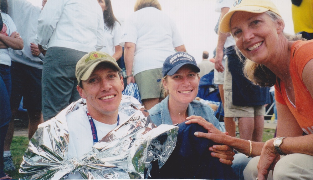 Ironman Lake Placid, 2004: My brother's an Ironman, and I want to be one, too.