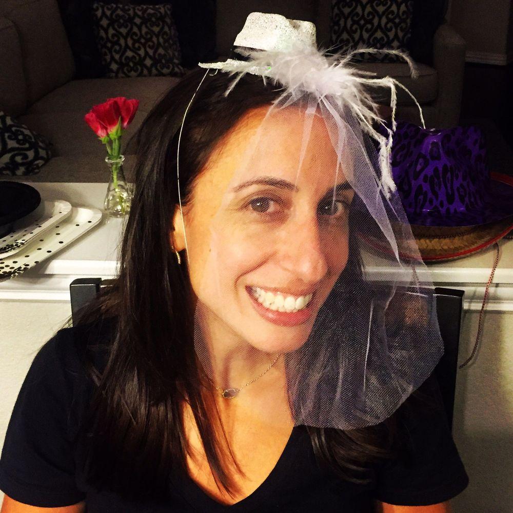 The beautiful Bride-To-Be, Sarah Gonzalez.