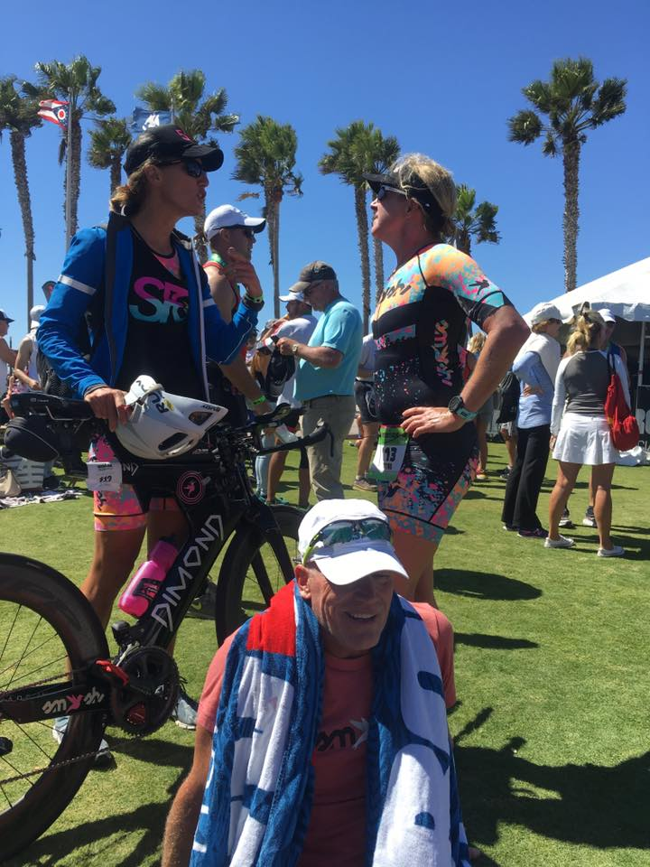 Post-race rundown with my teammates Tori Fewell and Barry Plaga. Photo courtesy of Hillary Biscay.