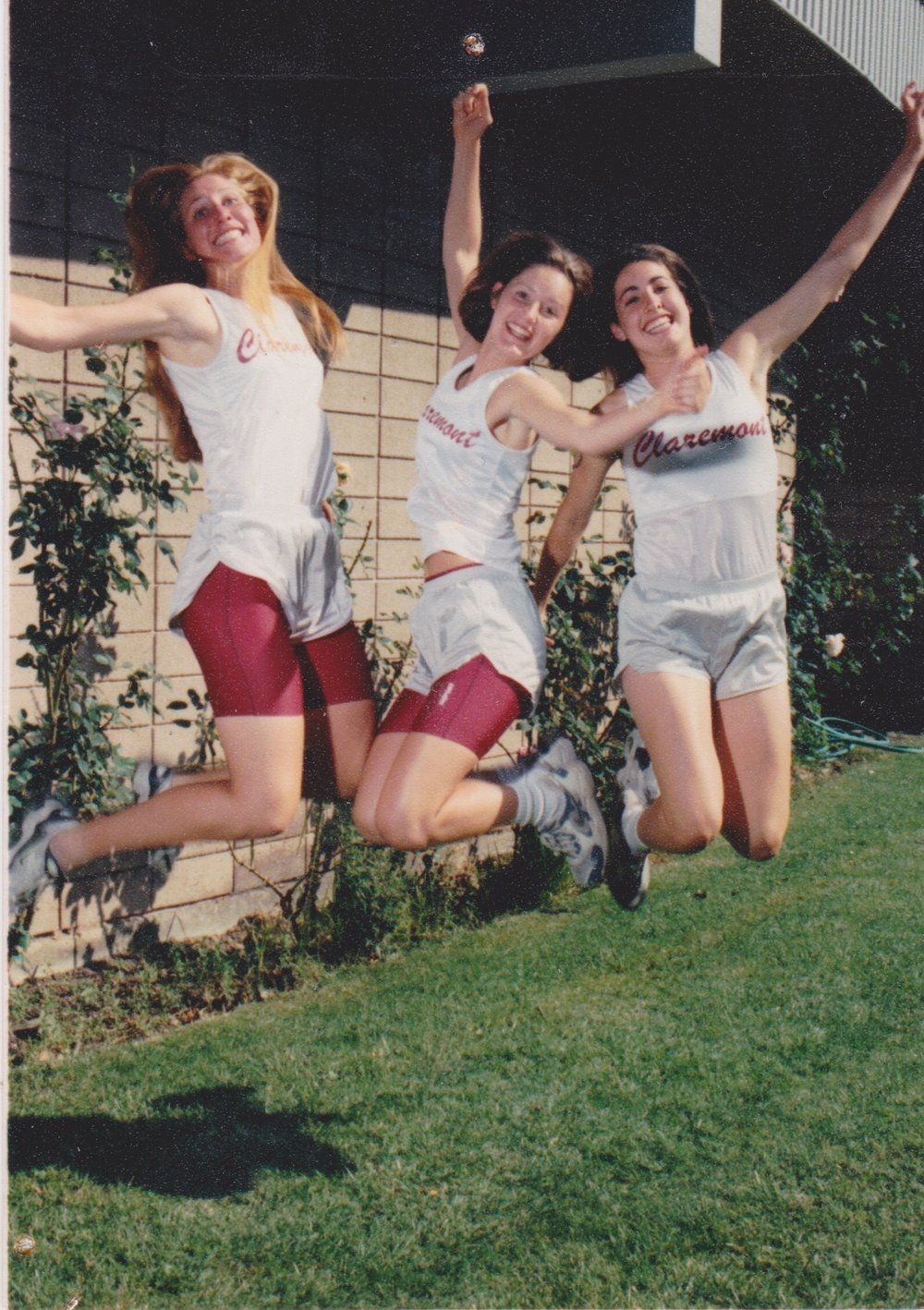 One of the many epic photos circa 1997 with my two best friends, Emily Tweten and Hadara Katarski.