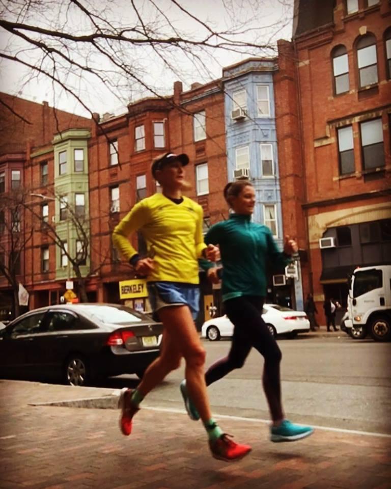 Pre-marathon snowy run.