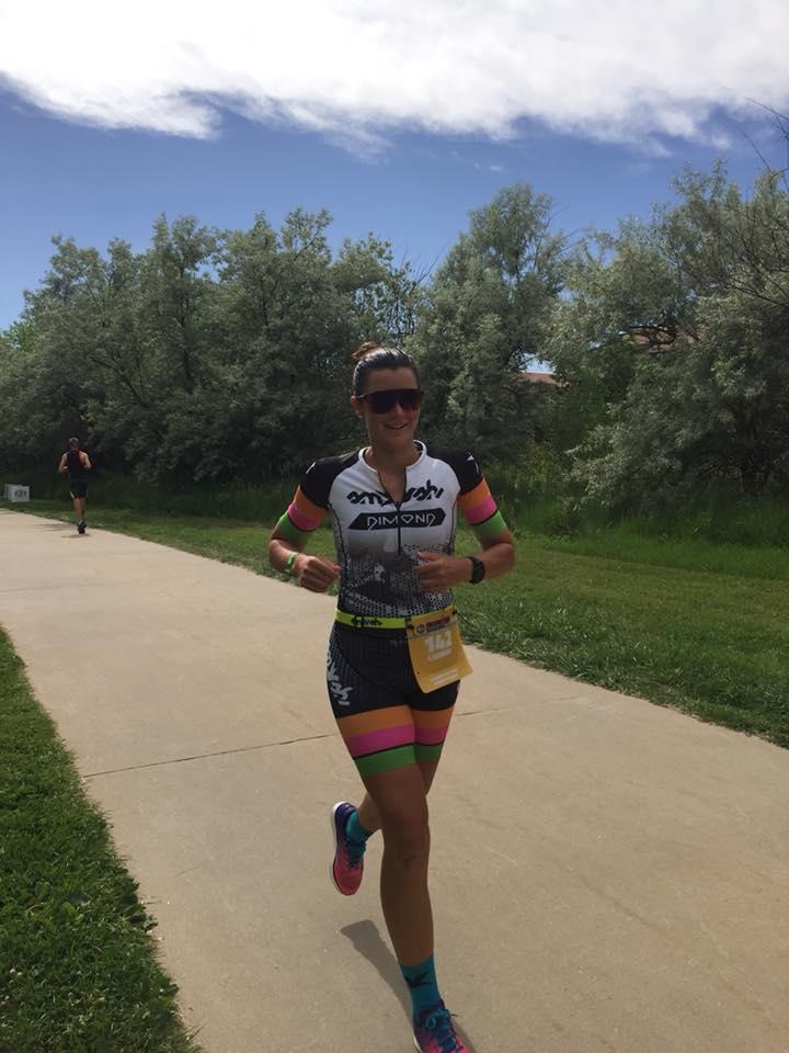 Lauren smashing the run! Photo credit goes to Sarah Peltier
