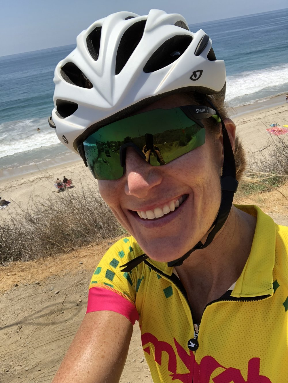 Ninety miles into a 101 mile bike ride along PCH.