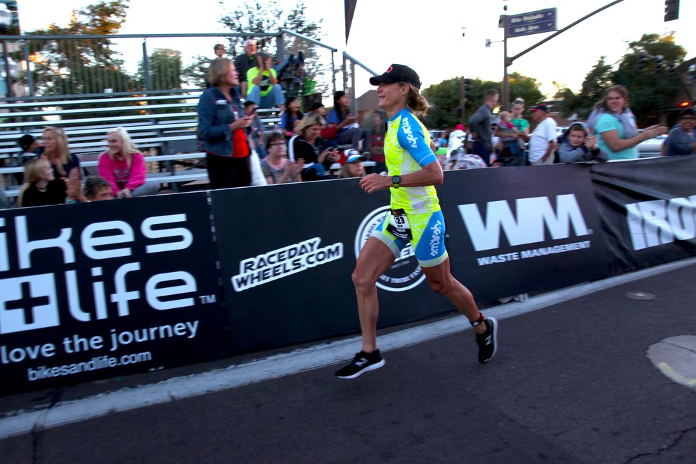 On my way to my first Kona-Qualifying finish.