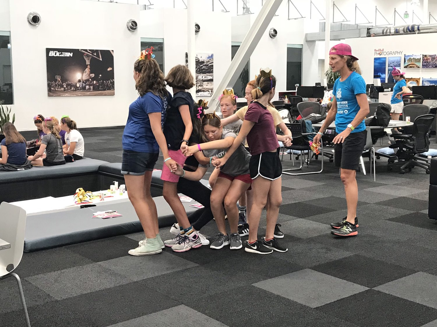 Human Knot - First Try