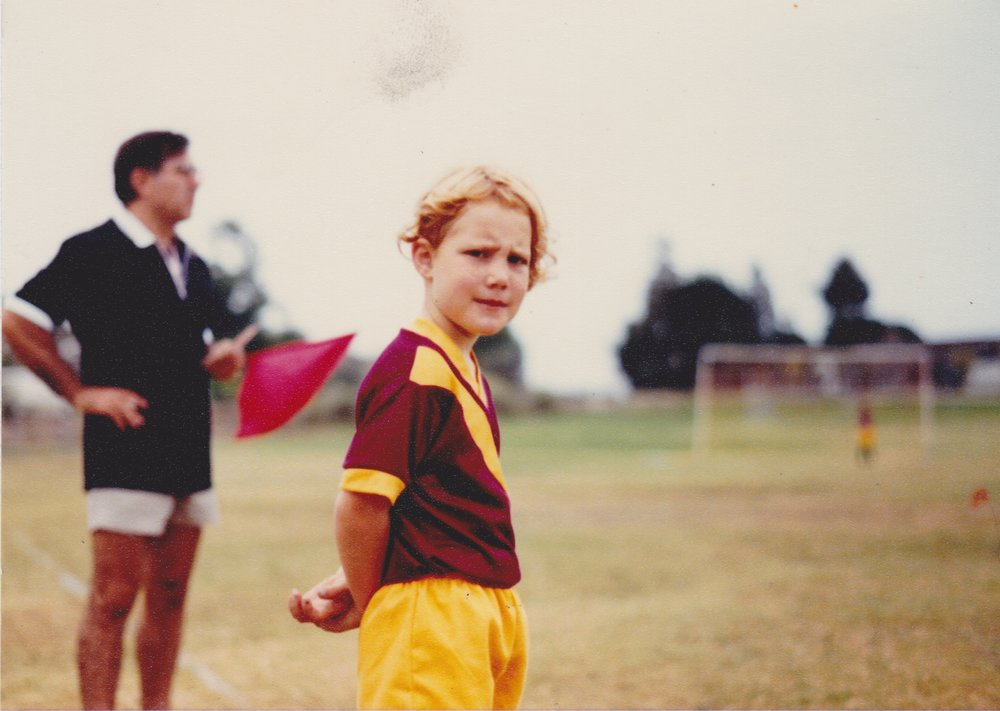 I wore a similar expression on Sunday night. Fall, 1985.