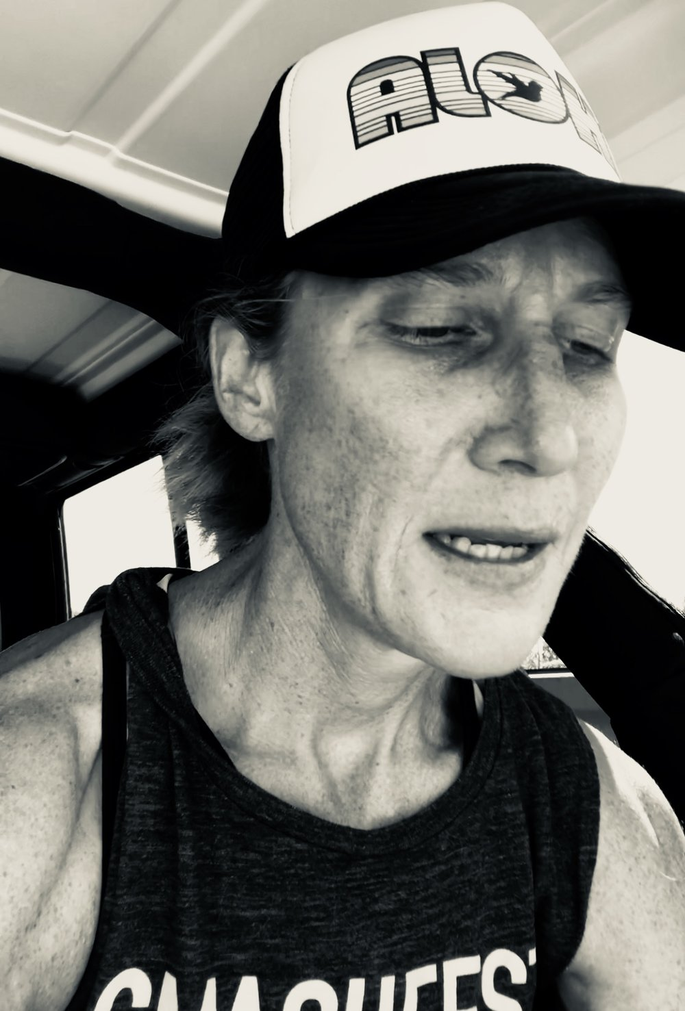 Sitting in the back of my Jeep, letting it sink in that I just completed the hardest workout of my life.