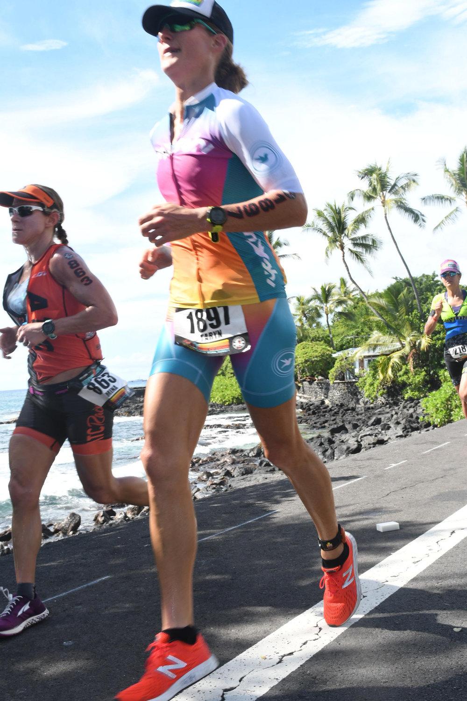 Mile 2ish of the marathon.