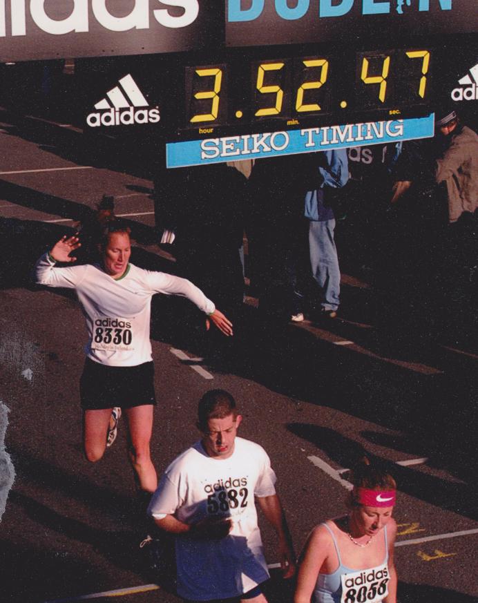 "The best ever, ""Finish Line Feels"" - The Dublin Marathon, 2003."