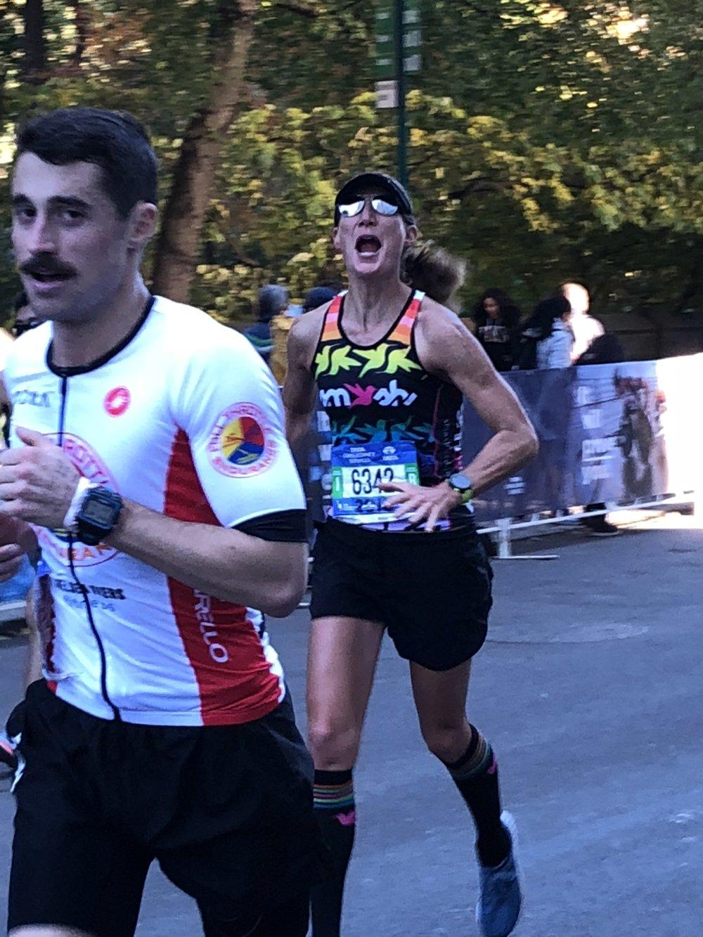 Happy runner.