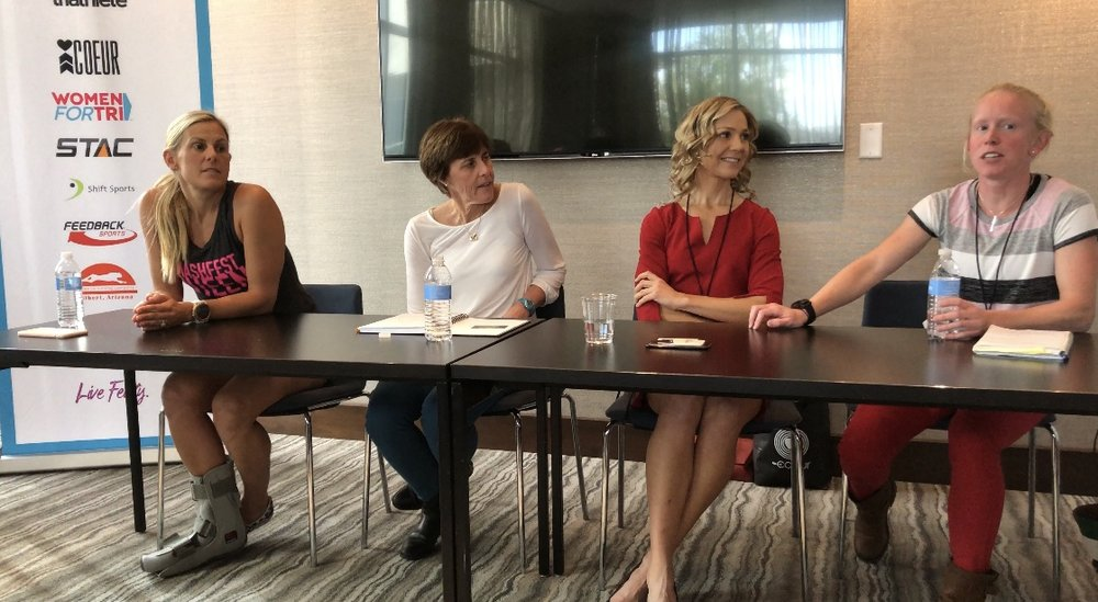 From left, Hillary Biscay, Kay Martin, Angella Goran, and Kelly O'Mara.
