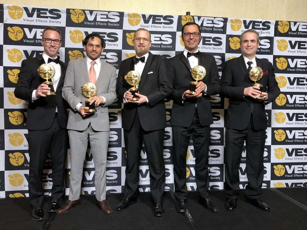 Winners from left: Terron, Jabbar, Nicolas, Joao, Marion.