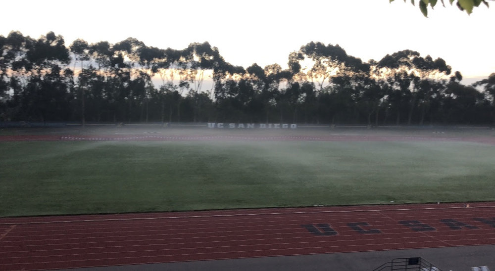 UCSD Track, La Jolla, Ca.