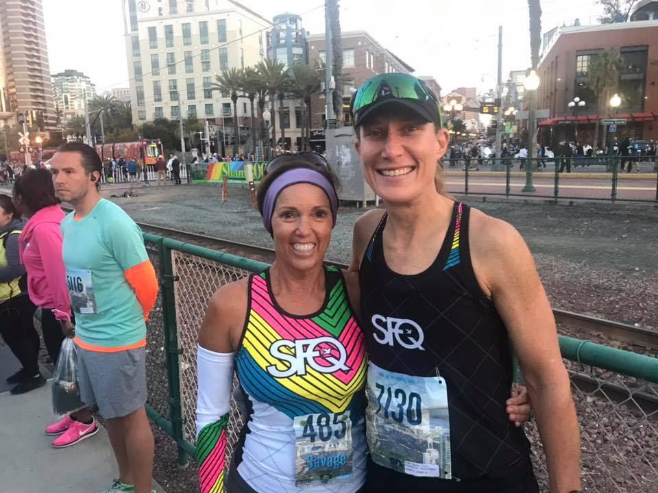 My Team SFQ Teammate, and fellow runner, Darlene Savage. Photo Courtesy of Darlene.