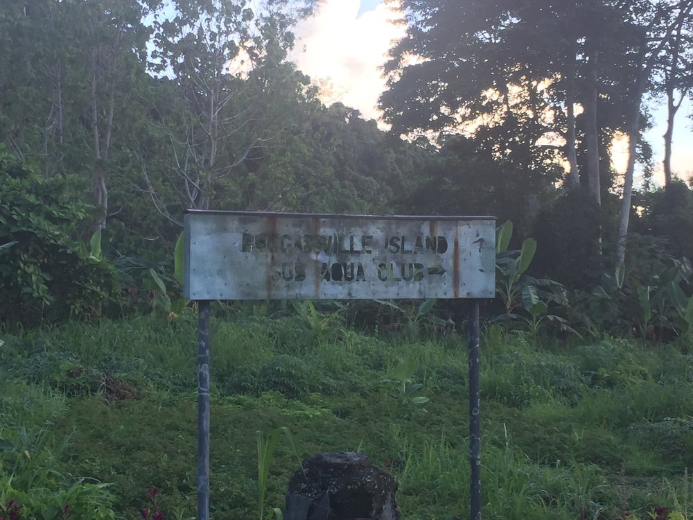 All that remains of Bougainville Sub-Aqua Club
