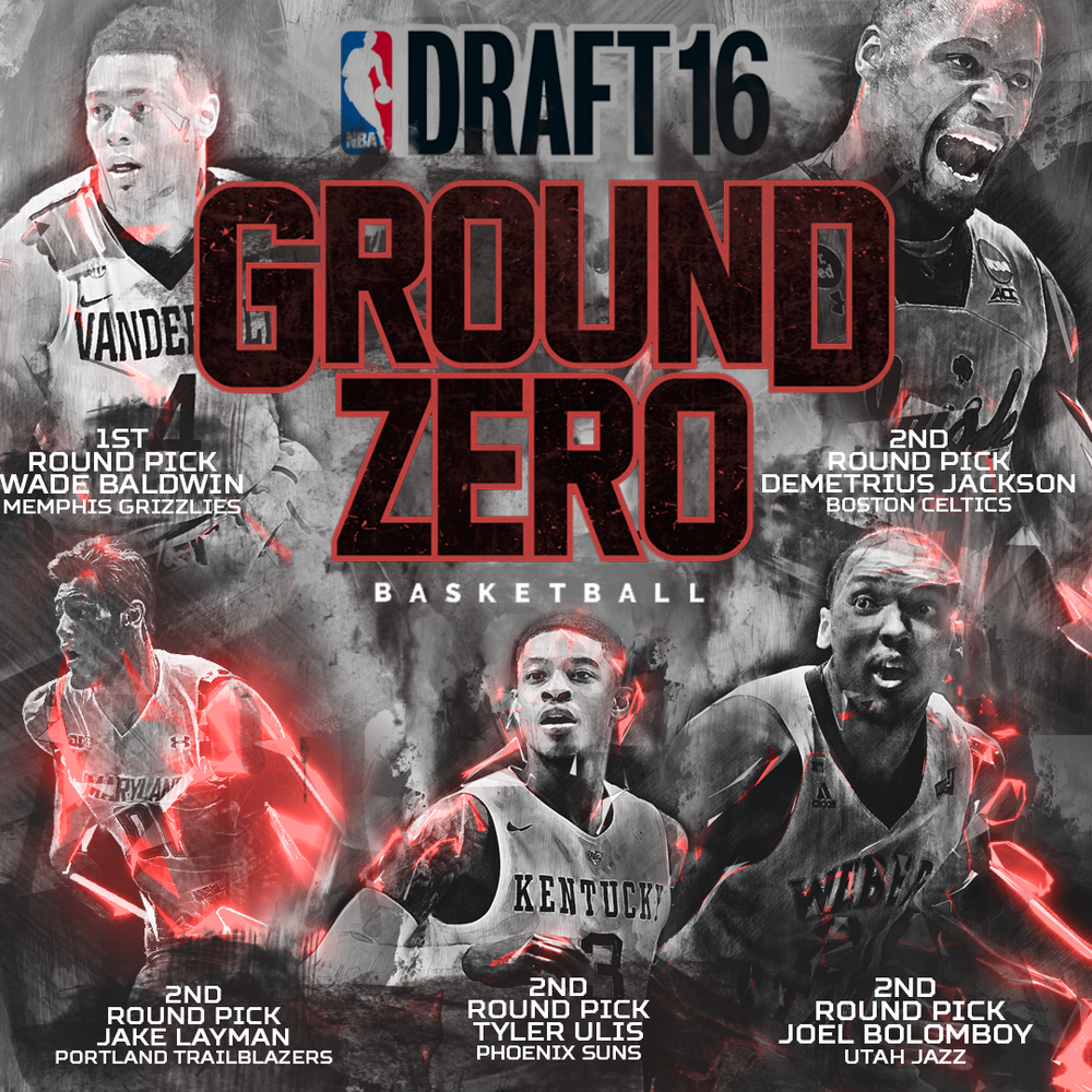 2016 Ground Zero Training NBA Draft Picks