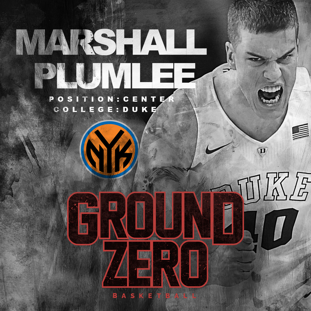 Marshall Plumlee Ground Zero Training