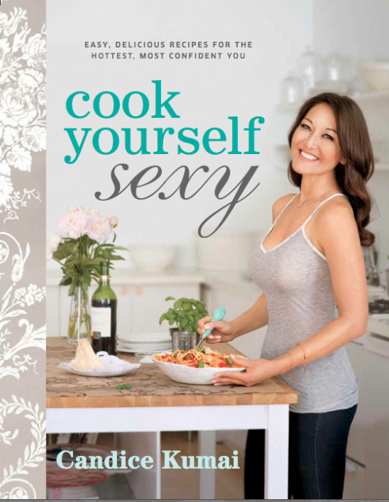 Hair for Candide Kumai: Cook yourself sexy book