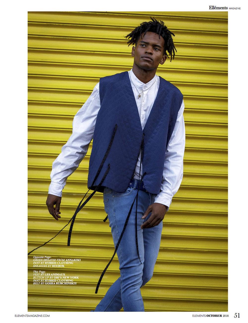 """Ellement Magazine: """"Deciduous Daze"""" (Grooming) Oct 2018"""