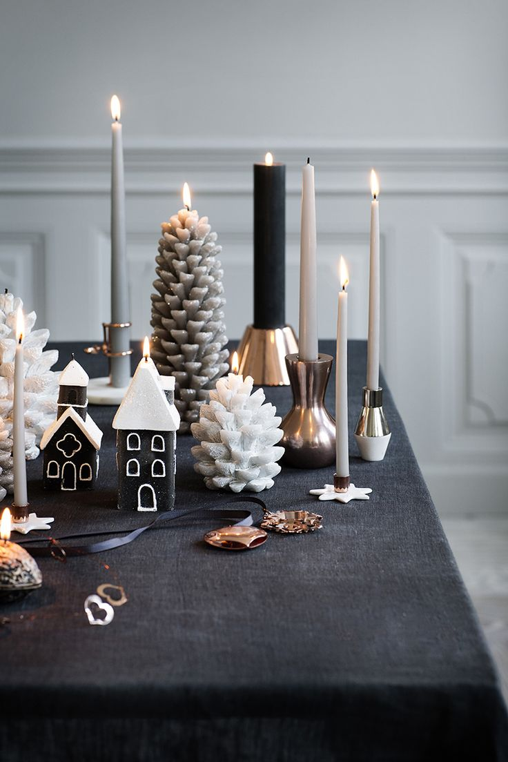 Our Broste Copenhagen Taper candles add a beautiful soft touch to all table settings.