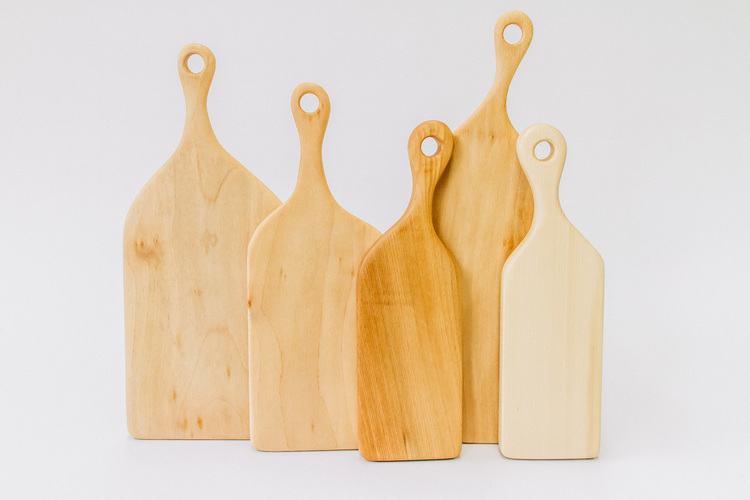 We have a great range from the lovely guys at Hampston Woods all sizes and shapes of serving boards for every need.