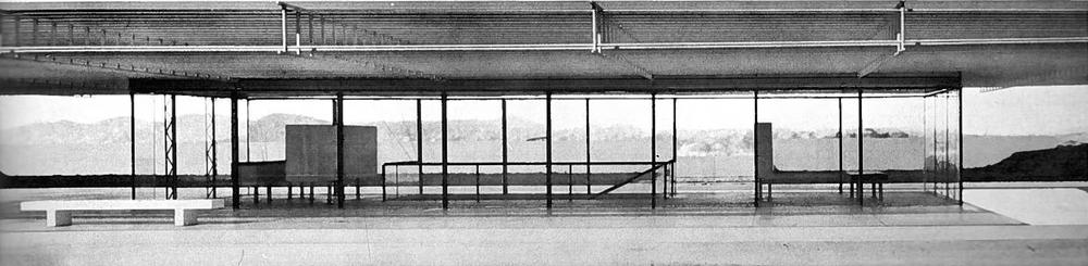 Wachsmann, Konrad. City Hall, California City, Model. 1966. Konrad Wachsmann Archiv, Akademie der Kunst, Berlin.