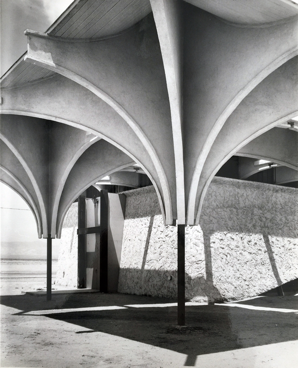Smith and Williams, Architects and Engineers. Congregational Church, California City. 1962. Architecture and Design Collection, University Art Museum, UCSB.