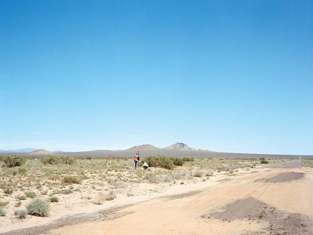Jeff Wall.  Property Line (California City) . 2015. Special thanks, again, to Nori for this find!