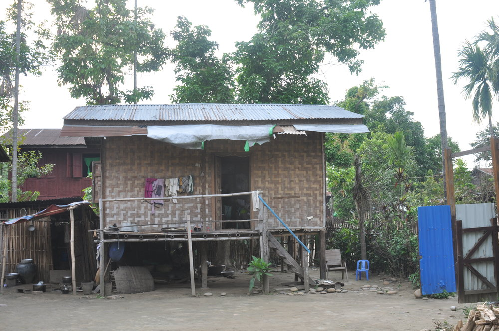 The home of one of the HIV+ children in Kachin State in Myanmar for whom we are providing a tutor.