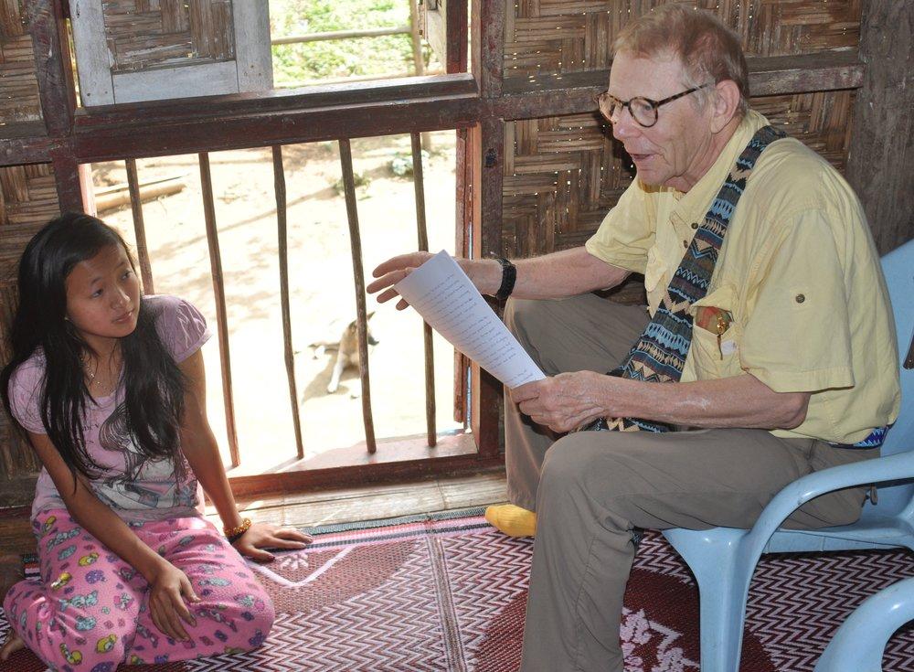 A future teacher inspires Bill.
