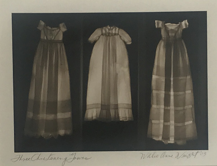 Copy of WILLIE ANNE WRIGHT, THREE ANTIQUE CHRISTENING GOWNS