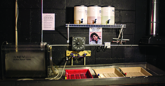 THE BLACK AND WHITE DARKROOM AT STUDIO TWO THREE