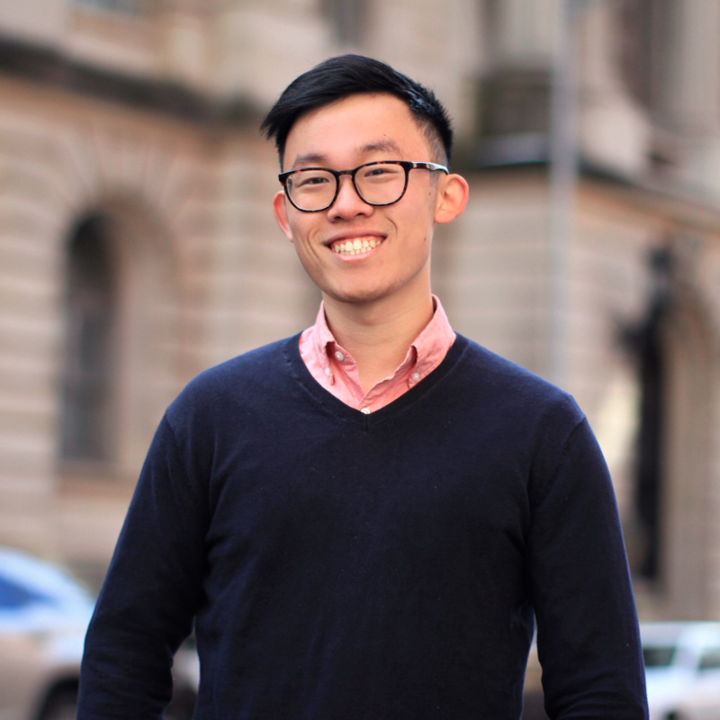Brendan Wu Professional & Alumni Affairs Director Class of 2018