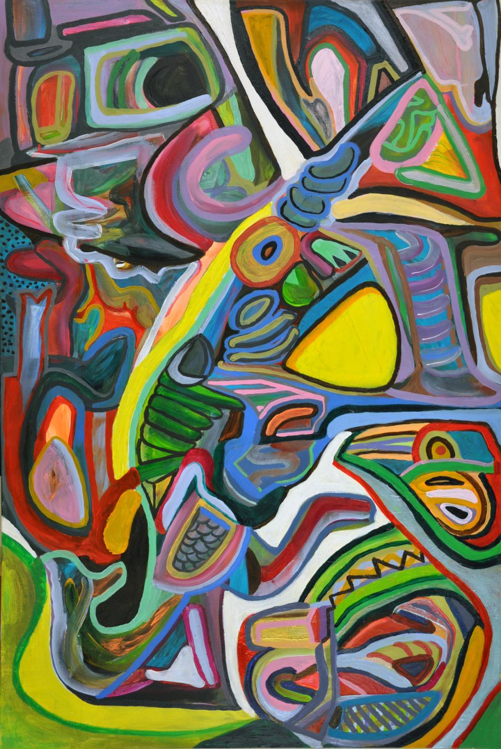 "Greek Prophet 31"" x 47"""