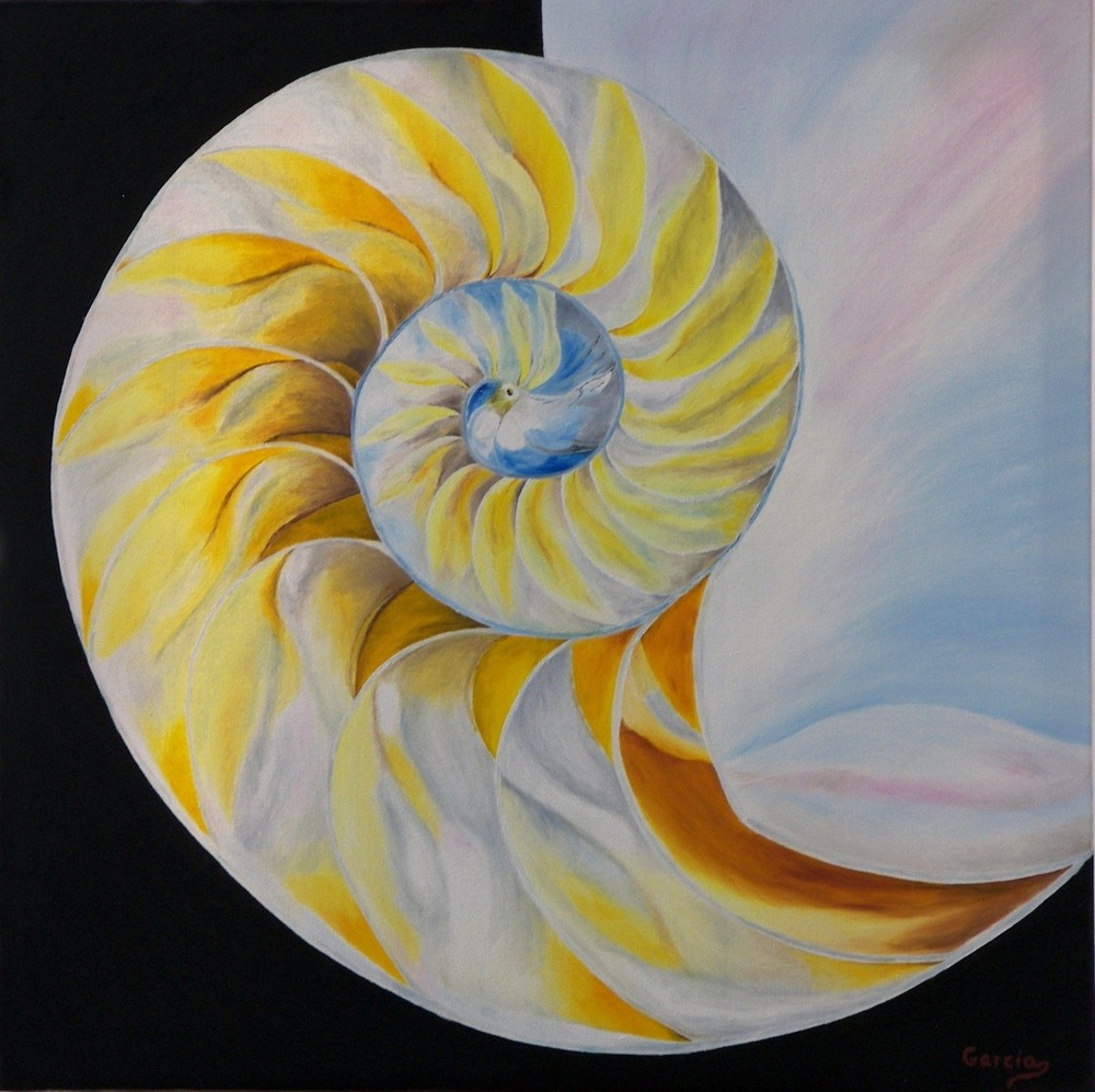 "Nautilus Dream 24"" x 24"""